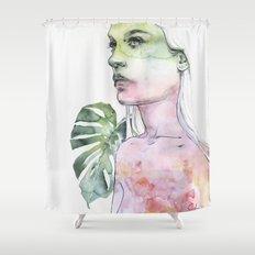 viridescent Shower Curtain