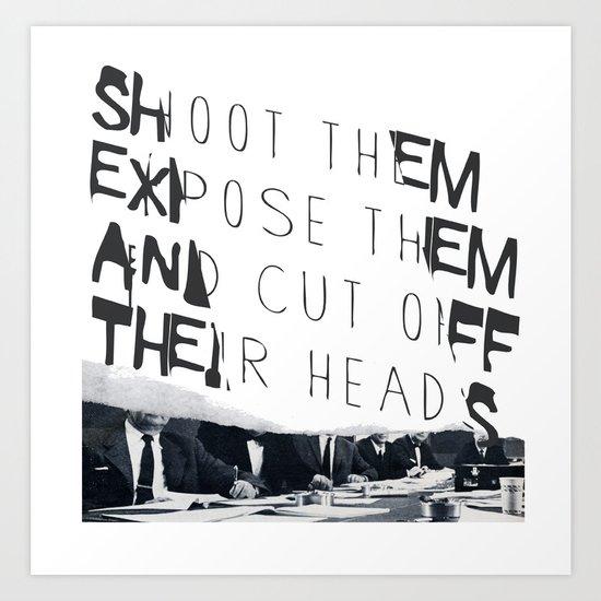 Killer Photographers Art Print