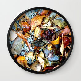 Beauty in Decay Wall Clock