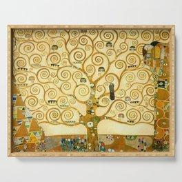 """Gustav Klimt """"Tree of life"""" Serving Tray"""