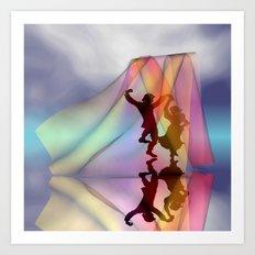 summer dance Art Print