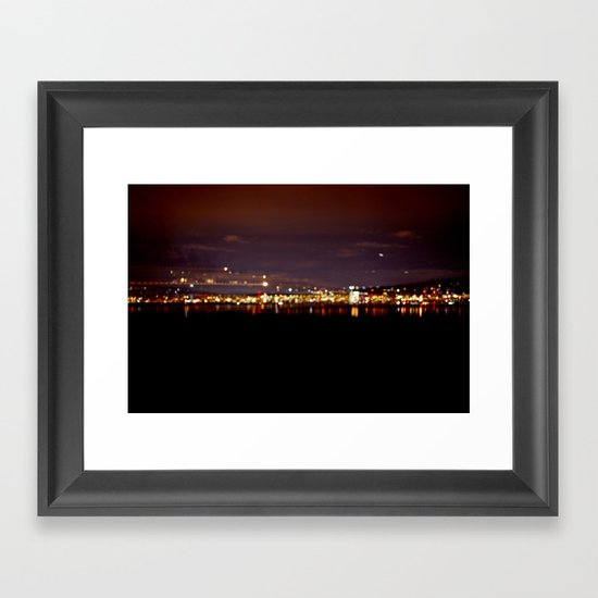 Midnight City Framed Art Print