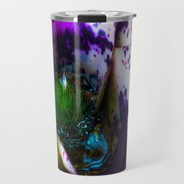 Microcosm in the flower  Travel Mug