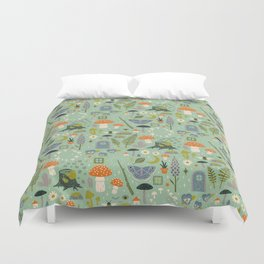 Fairy Garden Duvet Cover