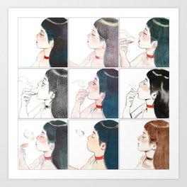 Buns Art Print