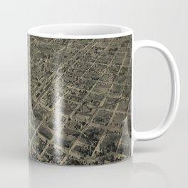 Vintage Pictorial Map of Cordele GA (1908) Coffee Mug
