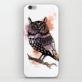 Owl Splash iPhone Skin