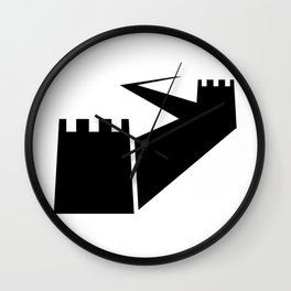 Great Wall Silhouette Wall Clock