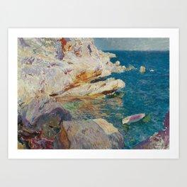 Joaquin Sorolla y Bastida, Rocks of Javea, 1905 Art Print