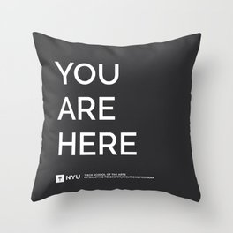 YOU ARE HERE  [Gotham] Throw Pillow