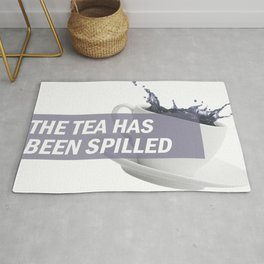 The Tea Has Been Spilled Rug