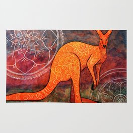 Mystic Kangaroo Rug