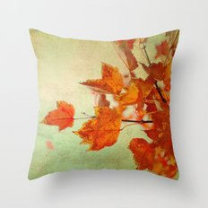 Whispers of Autumn Throw Pillow