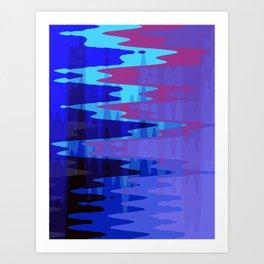Cold Fog Art Print