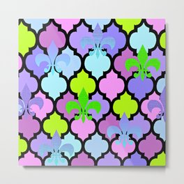 Moroccan and FDL Metal Print