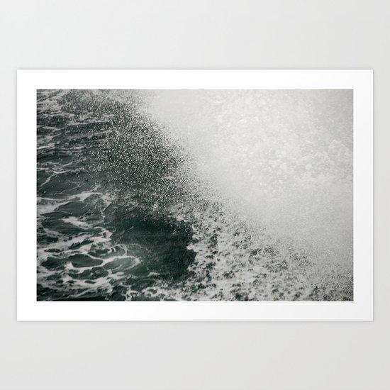 Maine Ferry Wake Art Print