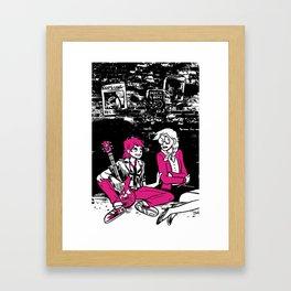 Shock & Roll Framed Art Print