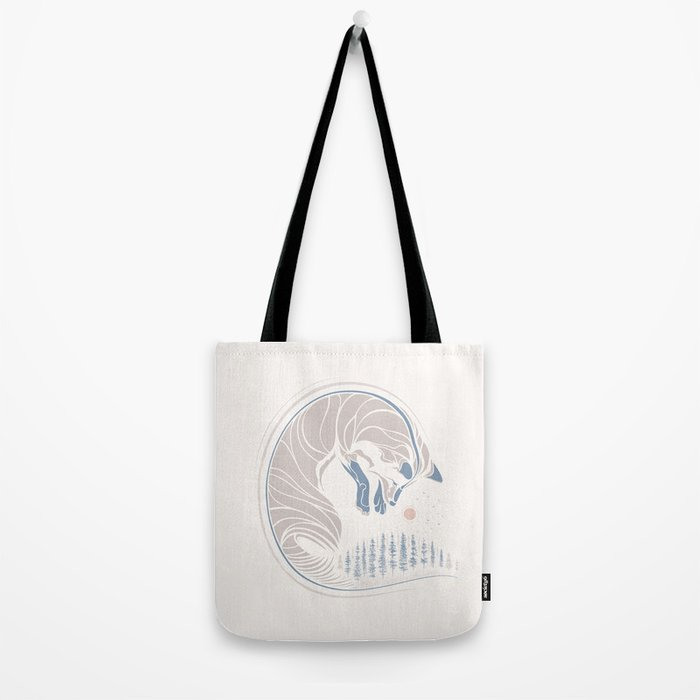 Chasing It's Tail Tote Bag