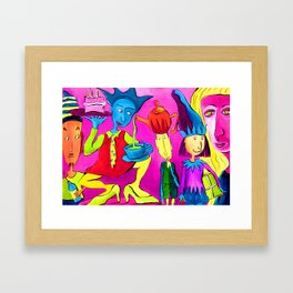 Partytime Framed Art Print