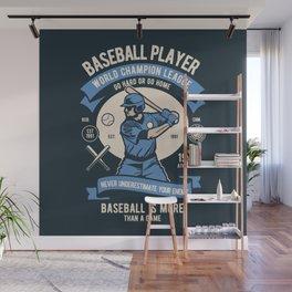 BASEBALL PLAYER - World Champion League. Wall Mural