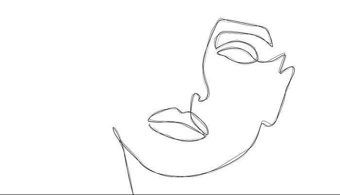 Triple Face Line Pillow Sham
