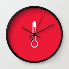 Heat - Better Weather Wall Clock