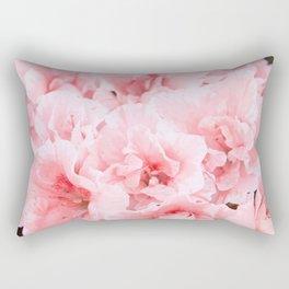 Pink Azalea Flower Dream #2 #floral #decor #art #society6 Rectangular Pillow