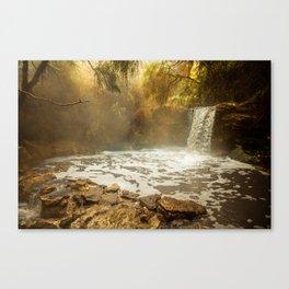 Thermal Waterfall- Wai O Tapu Canvas Print
