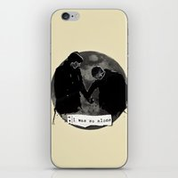johnlock iPhone & iPod Skins featuring Johnlock by Cécile Pellerin