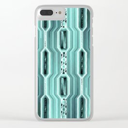 Beaded Jewels Clear iPhone Case
