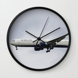 Delta Airlines Boeing 767 Wall Clock