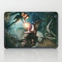 metroid iPad Cases featuring Metroid by ImmarArt