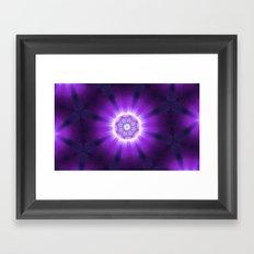 Kaleidoscope 'K3 SN' Framed Art Print