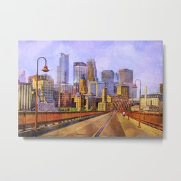 The city is calling my name today. Metal Print