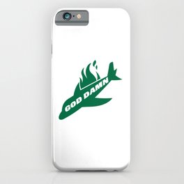Jets God Dam Funny New York Football iPhone Case