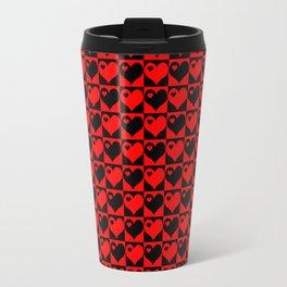 Hearts Love Collage Travel Mug