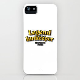 Legend of the Innkeeper Logo #2 iPhone Case