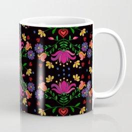 Colorful Mexican Embroidery Coffee Mug