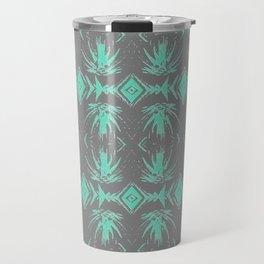 Tiki Vintage Green Rhythmic Dance Travel Mug