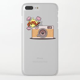 Kapow Clear iPhone Case