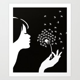 as I wish Art Print