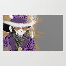 Pimp-Panzee Rug