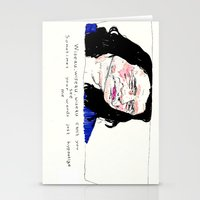 notorious Stationery Cards featuring Notorious W.I.S.E.A.U by withapencilinhand