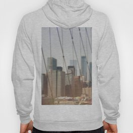 New York from Brooklyn Bridge Hoody