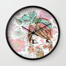 The beautiful Mimi Wall Clock
