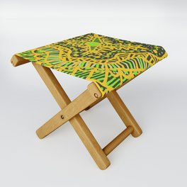Doodle 16 Yellow Folding Stool