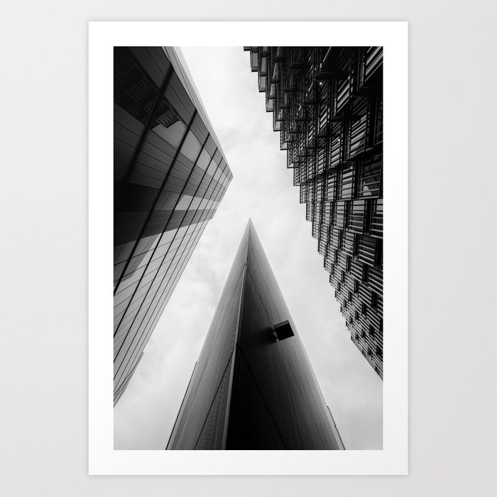 Abstract Buildings In Art