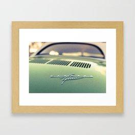 Morning Ghia Framed Art Print