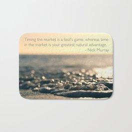 Wallpaper Quote Bath Mat
