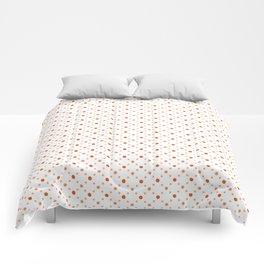 Criss Cross Dots Comforters